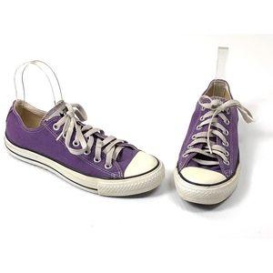 Converse Lo Cut All Star Sneaker Womens 7.5 Purple